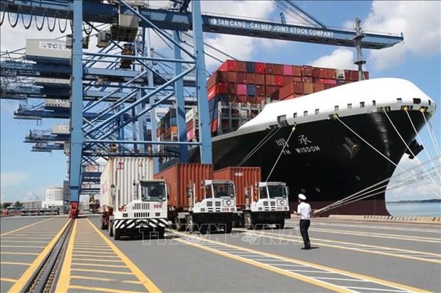 2021年前9月越南海港货物吞吐量仍保持增长势头 hinh anh 1