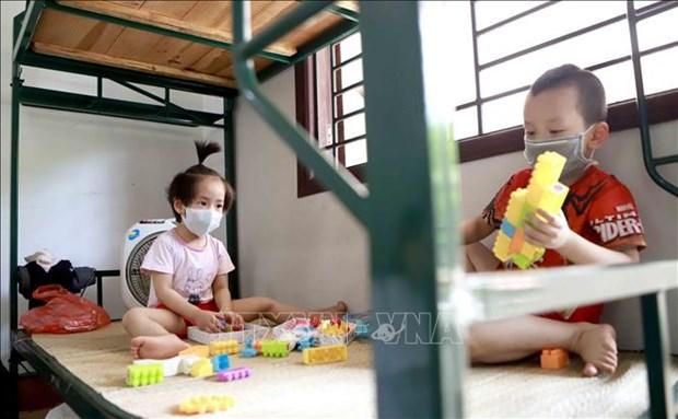 越南确保因疫情成为孤儿的儿童受照顾权 hinh anh 1