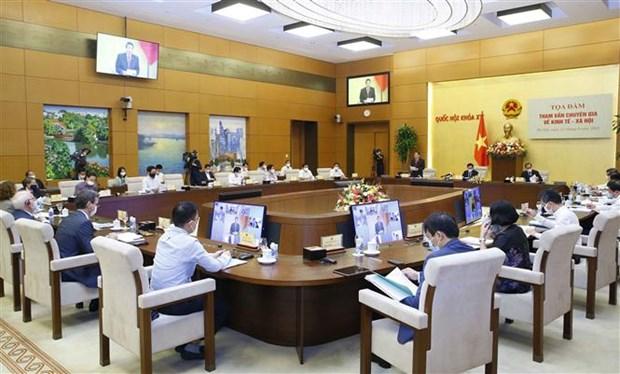 疫情期间和疫情之后越南经济复苏和发展计划的三个阶段 hinh anh 1