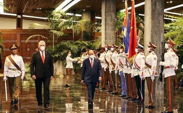 阮春福访问古巴和赴美出席联合国大会之旅:疫苗外交的巨大成功 hinh anh 1