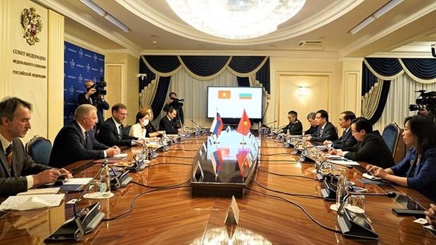 俄罗斯联邦委员会副主席科萨切夫:越南是俄罗斯在亚太地区最重要和亲密的伙伴 hinh anh 1
