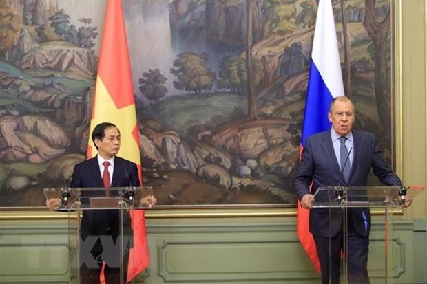 俄罗斯媒体密集报道越南外长访俄之旅 hinh anh 1