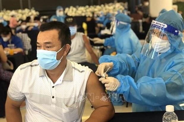 越南卫生部发文要求各省市加快推进新冠疫苗接种工作 hinh anh 1