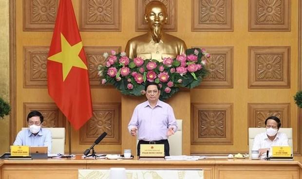 范明政总理:加快公共投资资金到位确保项目高质量顺利推进全力打击利益集团 hinh anh 1
