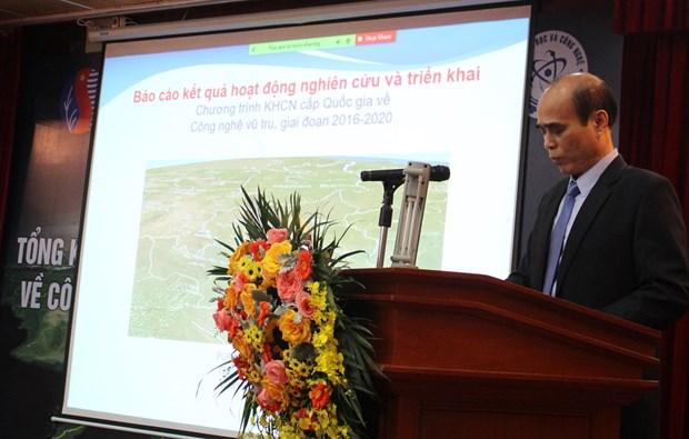 越南航天技术领域取得长足发展 hinh anh 1