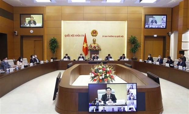 国会主席王廷惠:美国企业为越南经济发展做出积极贡献 hinh anh 2