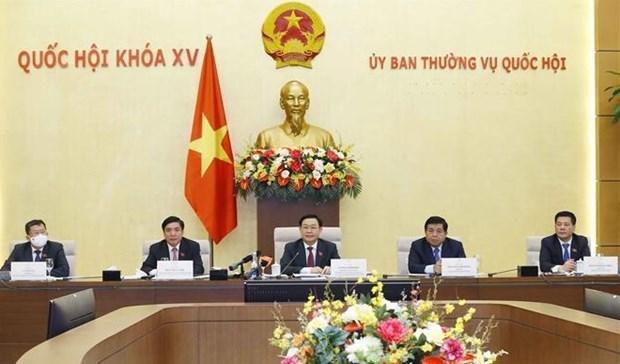 国会主席王廷惠:美国企业为越南经济发展做出积极贡献 hinh anh 1