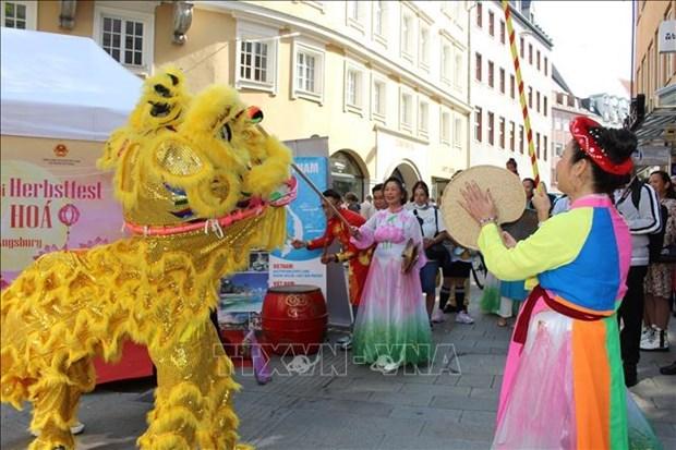 越南在德国奥格斯堡多元文化节上的烙印 hinh anh 2
