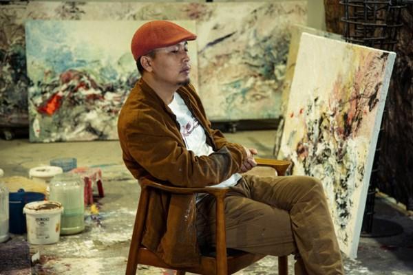 越南艺术家的首个个人展亮相意大利 hinh anh 2