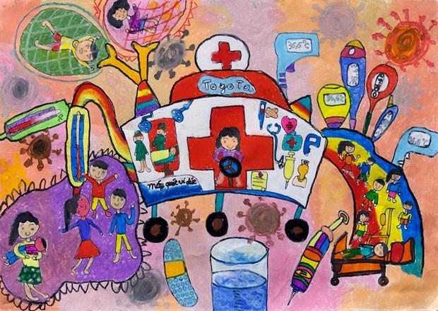 """第11届""""梦想之车""""儿童绘画比赛正式启动 hinh anh 2"""