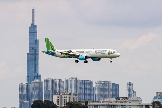 越竹自10月10日起恢复运营多条国内航线 hinh anh 1