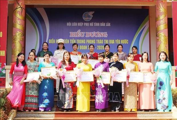 Ky niem 130 nam Ngay sinh Chu tich Ho Chi Minh: Dak Lak bieu duong dien hinh phu nu trong phong trao thi dua yeu nuoc hinh anh 1