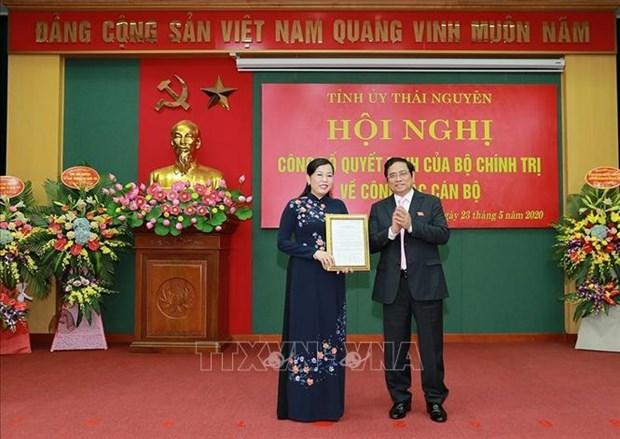Truong ban Dan nguyen Quoc hoi Nguyen Thanh Hai lam Bi thu Tinh uy Thai Nguyen hinh anh 2
