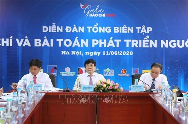 "Dien dan Tong Bien tap ""Bao chi va bai toan phat trien nguon thu"" hinh anh 5"
