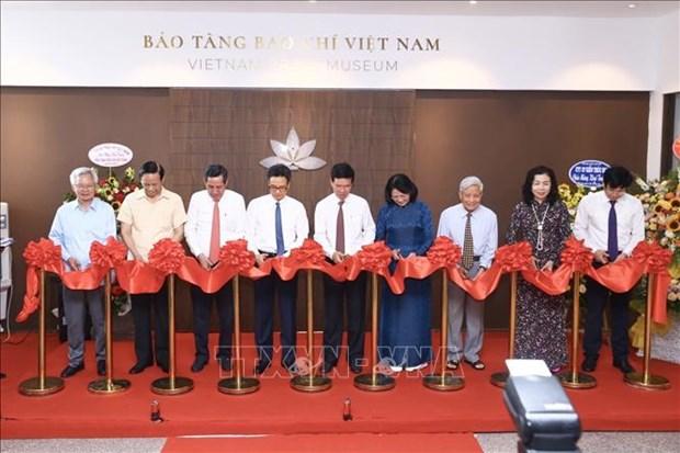 Khai truong Bao tang Bao chi Viet Nam hinh anh 1