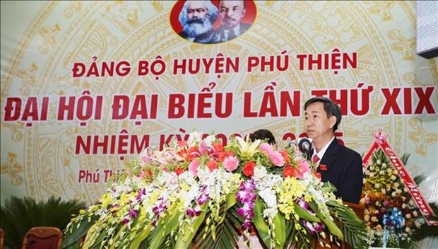 Tien toi Dai hoi XIII cua Dang: Phu Thien phan dau nam 2025 tro thanh huyen nong thon moi hinh anh 4