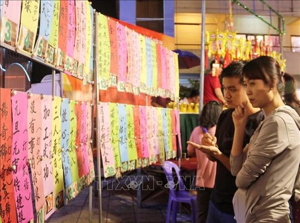 """Cong nhan """"Tap quan xa hoi va tin nguong Tet Nguyen tieu cua nguoi Hoa"""" la Di san van hoa phi vat the quoc gia hinh anh 2"""