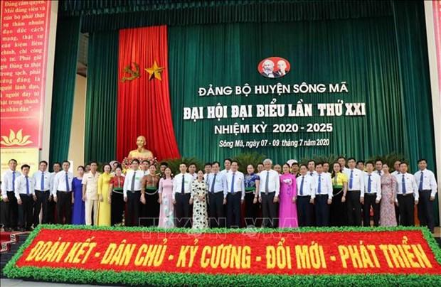 Tien toi Dai hoi XIII cua Dang: Xay dung Song Ma thanh huyen phat trien kha cua tinh Son La hinh anh 4