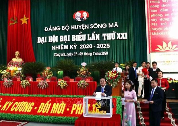 Tien toi Dai hoi XIII cua Dang: Xay dung Song Ma thanh huyen phat trien kha cua tinh Son La hinh anh 3