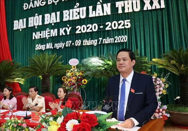 Tien toi Dai hoi XIII cua Dang: Xay dung Song Ma thanh huyen phat trien kha cua tinh Son La hinh anh 2