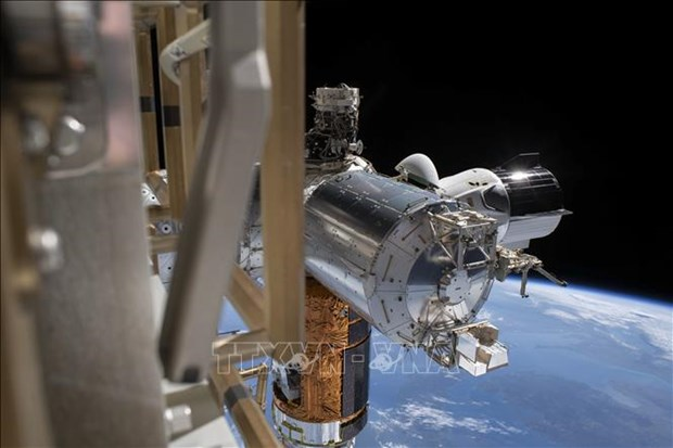 My: Cac phi hanh gia NASA chuan bi tro ve Trai Dat tu ISS hinh anh 1