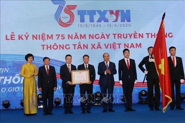 Le Ky niem 75 nam Ngay truyen thong Thong tan xa Viet Nam hinh anh 4