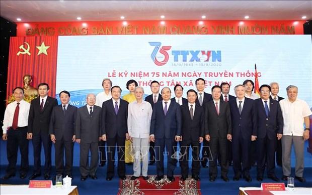 Le Ky niem 75 nam Ngay truyen thong Thong tan xa Viet Nam hinh anh 7