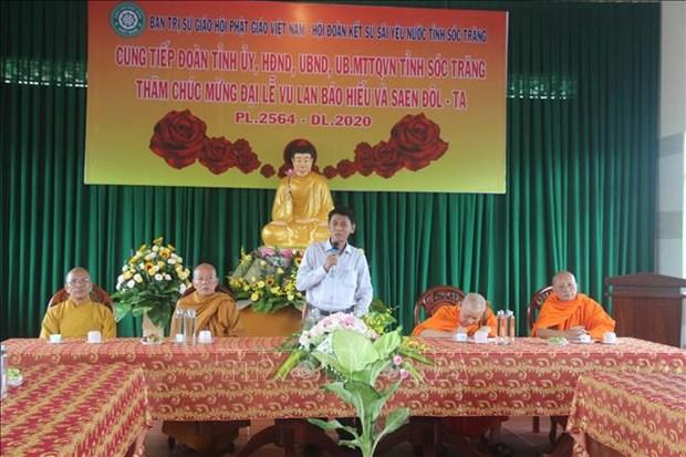 Dong bao Khmer phan khoi don mung le Sene Dolta hinh anh 1