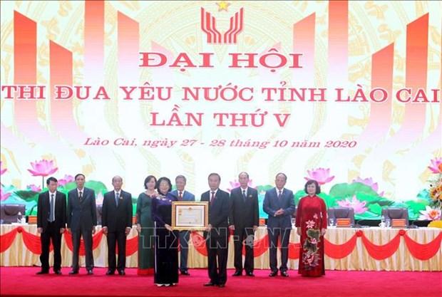 Pho Chu tich nuoc Dang Thi Ngoc Thinh: Lao Cai can doi moi thi dua phu hop voi van hoa cua dong bao hinh anh 3