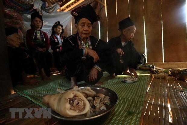 Doc dao le hoi Pang Phoong cua dong bao dan toc Khang hinh anh 5