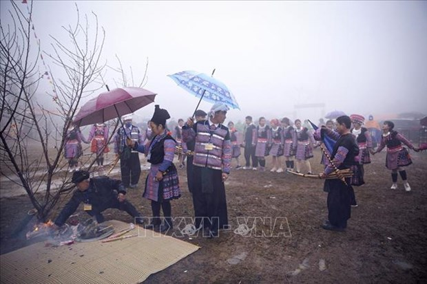 Le hoi Gau Tao huyen Mai Chau nam 2021 hinh anh 3