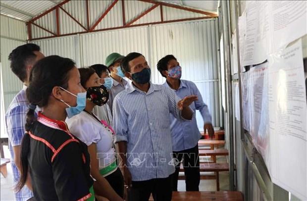 Lai Chau phat huy vai tro cua nguoi co uy tin, truong ban trong tuyen truyen bau cu hinh anh 1