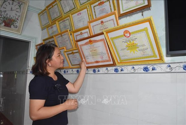 Co giao tre Huynh Thi Thuy Dung het long vi hoc sinh dan toc thieu so o xa Dak Nang hinh anh 6