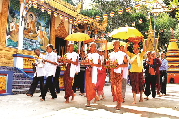 Nghi thuc don chu thien cua dong bao Khmer Nam Bo hinh anh 1