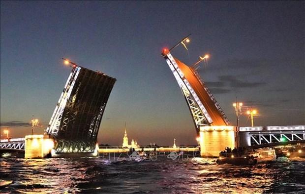 Xem cau mo ve dem o St. Petersburg hinh anh 2