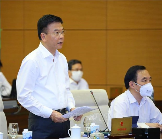 Phien hop thu 3 Uy ban Thuong vu Quoc hoi: Kiem soat chat viec ban hanh van ban quy dinh chi tiet hinh anh 4