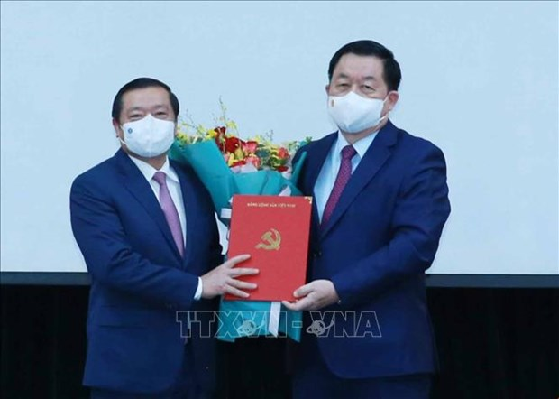 Ong Lai Xuan Mon giu chuc Pho Truong Ban Tuyen giao Trung uong hinh anh 1