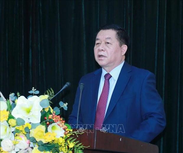 Ong Lai Xuan Mon giu chuc Pho Truong Ban Tuyen giao Trung uong hinh anh 2