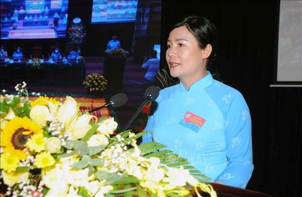 Dai hoi Dai bieu phu nu tinh Son La lan thu XIII, nhiem ky 2021-2016: Dai hoi diem theo hinh thuc truc tuyen den cac tinh, thanh pho hinh anh 12