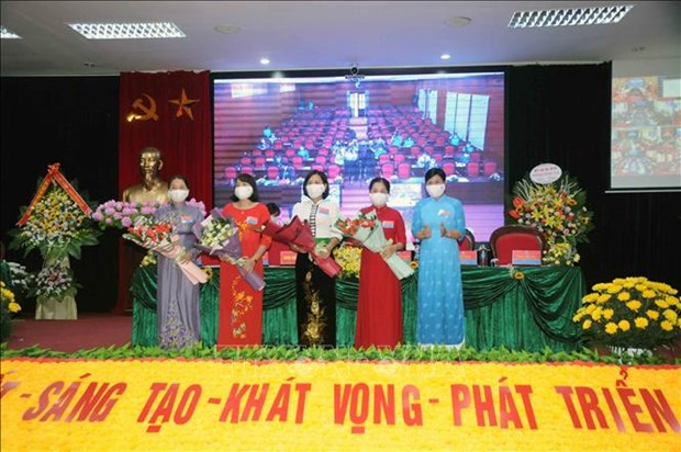Dai hoi Dai bieu phu nu tinh Son La lan thu XIII, nhiem ky 2021-2016: Dai hoi diem theo hinh thuc truc tuyen den cac tinh, thanh pho hinh anh 11