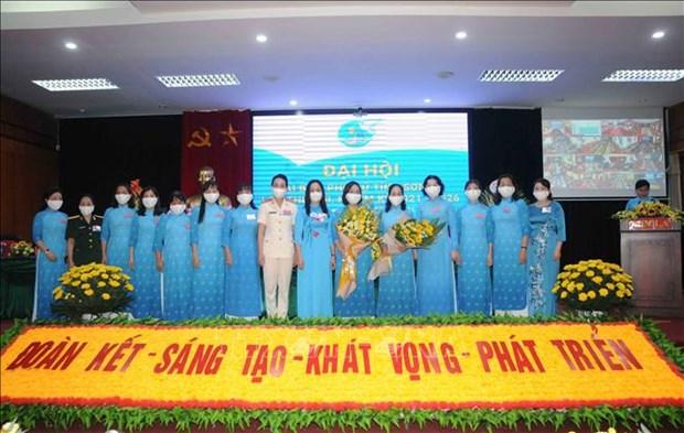 Dai hoi Dai bieu phu nu tinh Son La lan thu XIII, nhiem ky 2021-2016: Dai hoi diem theo hinh thuc truc tuyen den cac tinh, thanh pho hinh anh 8