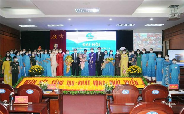 Dai hoi Dai bieu phu nu tinh Son La lan thu XIII, nhiem ky 2021-2016: Dai hoi diem theo hinh thuc truc tuyen den cac tinh, thanh pho hinh anh 9