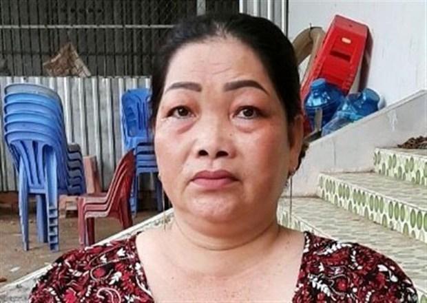 An Giang bat giu doi tuong nu van chuyen 4kg can sa qua bien gioi hinh anh 1