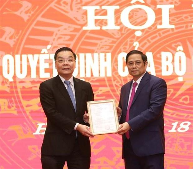 Dong chi Chu Ngoc Anh nhan nhiem vu Pho Bi thu Thanh uy Ha Noi hinh anh 4