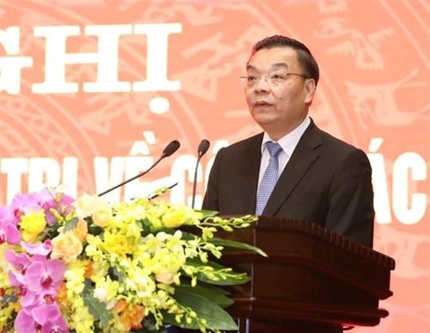 Dong chi Chu Ngoc Anh nhan nhiem vu Pho Bi thu Thanh uy Ha Noi hinh anh 3