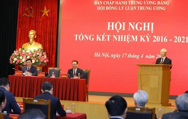 Tong Bi thu Nguyen Phu Trong: Nang cao hon nua chat luong tong ket thuc tien gan voi nghien cuu ly luan hinh anh 1