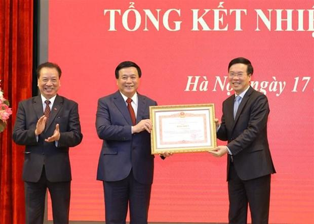 Tong Bi thu Nguyen Phu Trong: Nang cao hon nua chat luong tong ket thuc tien gan voi nghien cuu ly luan hinh anh 8