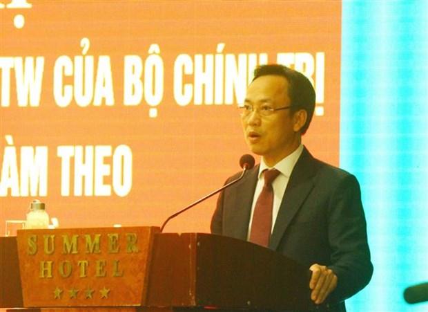Dang bo Khoi co quan Trung uong: Coi trong vai tro neu guong cua nguoi dung dau trong thuc hien Chi thi 05 hinh anh 2