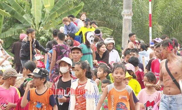 Net doc dao le Sene Neak Ta cua nguoi Khmer o Binh Phuoc hinh anh 1