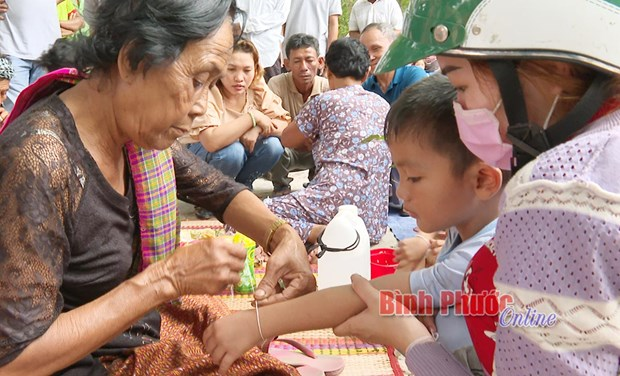 Net doc dao le Sene Neak Ta cua nguoi Khmer o Binh Phuoc hinh anh 2